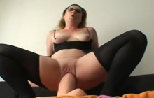 Mature sluts love fisting and huge dildos