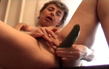 Grandma feeling horny