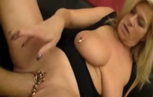 Pierced mature gets fisted