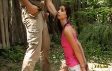 Fetish porn with handcuffed teen getting fucked
