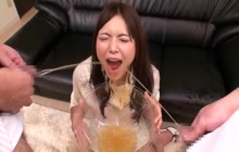 Slutty Japanese loves piss