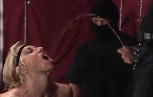 Crazy German peeing orgy