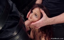 Milf sub in double anal penetration