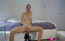 Machine fucking webcam show