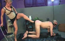 Kinky guy and his Mistress