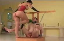 Busting his balls