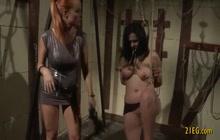 Nasty queen Era punishes her slave servant